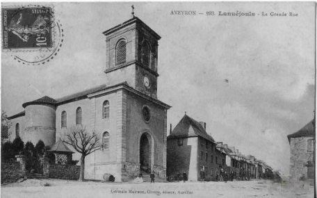 Lanuejouls Eglise 191X